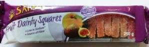 Safari Dried - Fruit Dainty Squares(tray)